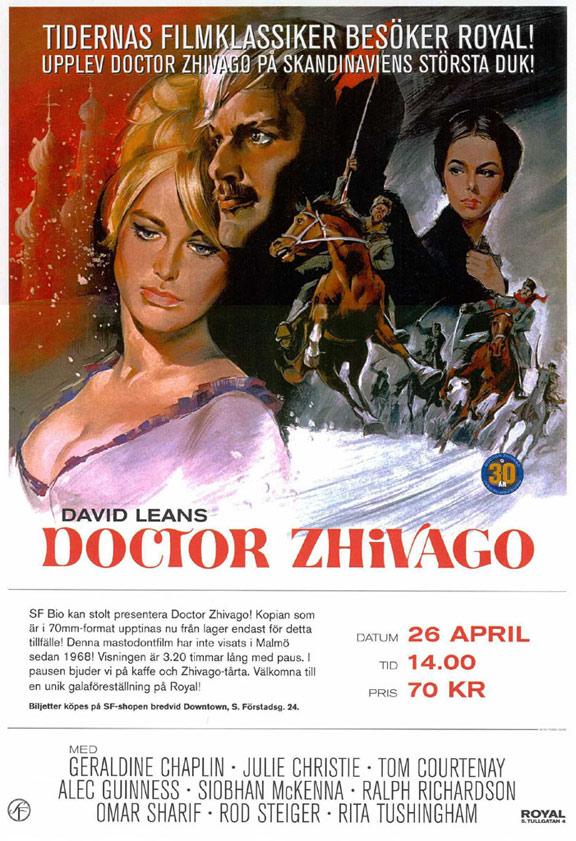 Doctor Zhivago Poster #2