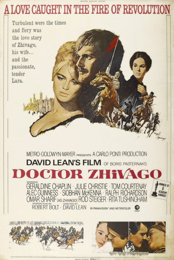 Doctor Zhivago Poster #1