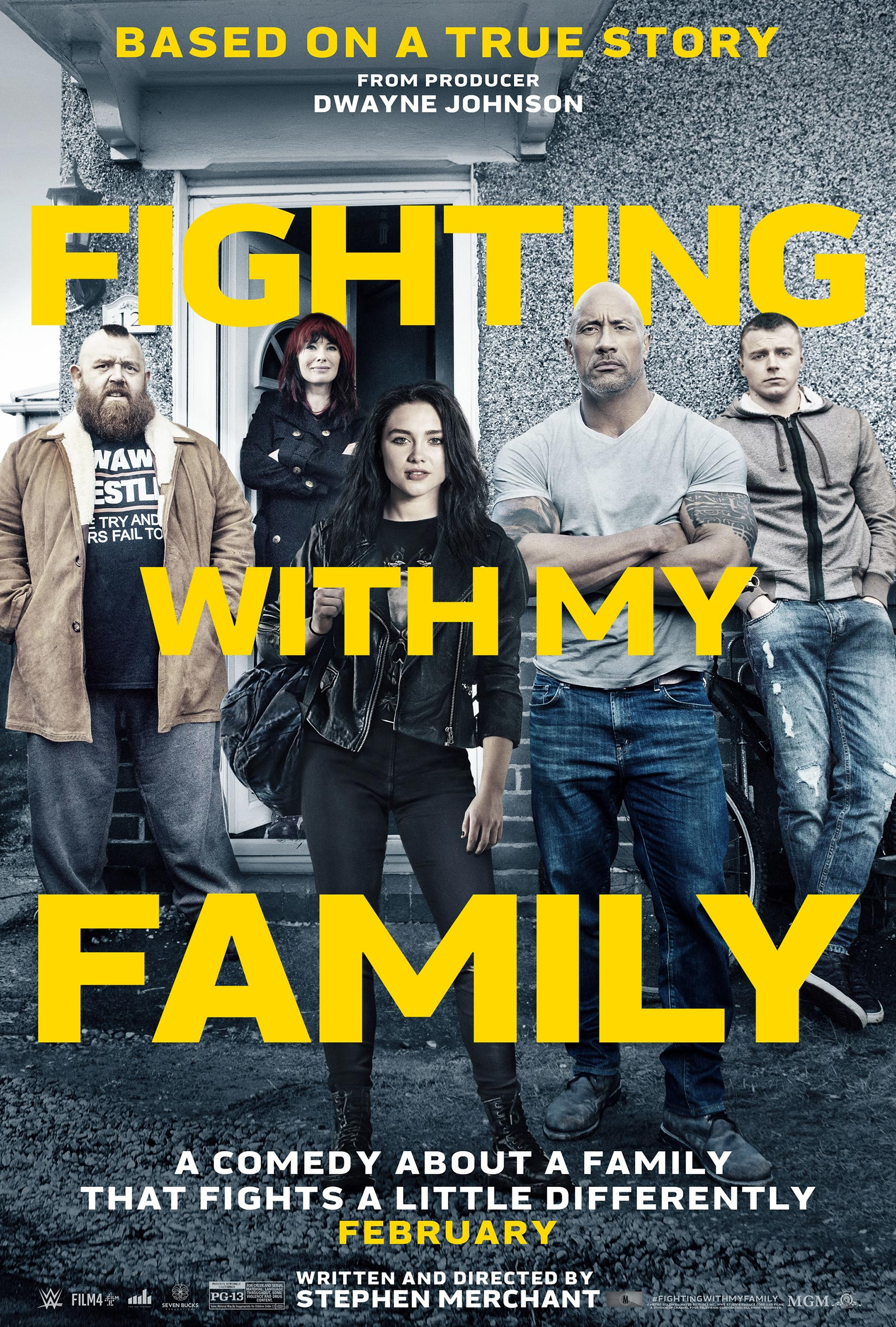 Fighting with My Family Poster #1