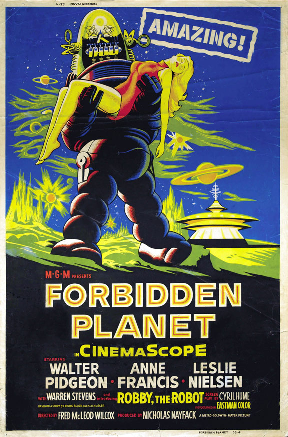Forbidden Planet Poster #2