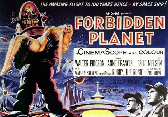 Forbidden Planet Poster #4