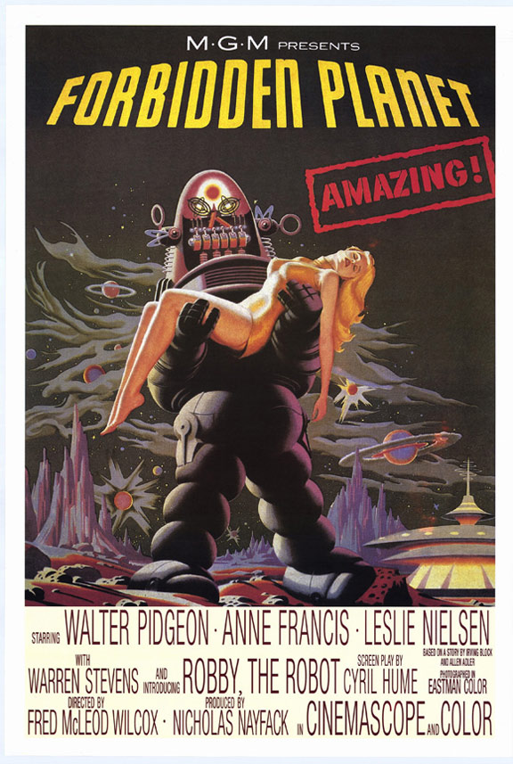 Forbidden Planet Poster #1