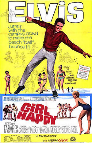 Girl Happy Poster #1