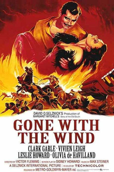 Gone with the Wind Poster #1