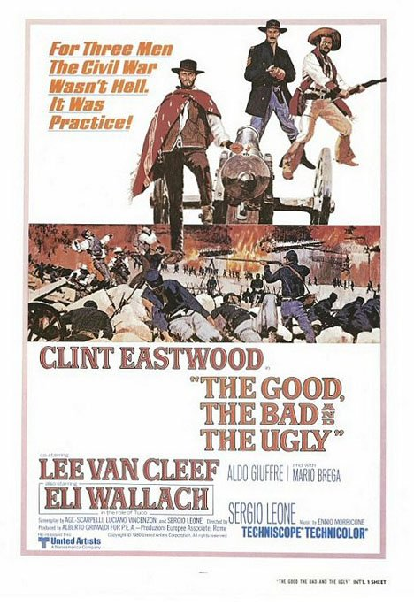 The Good, the Bad and the Ugly Poster #1