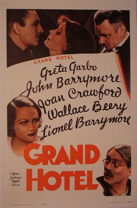 Grand Hotel Poster #2