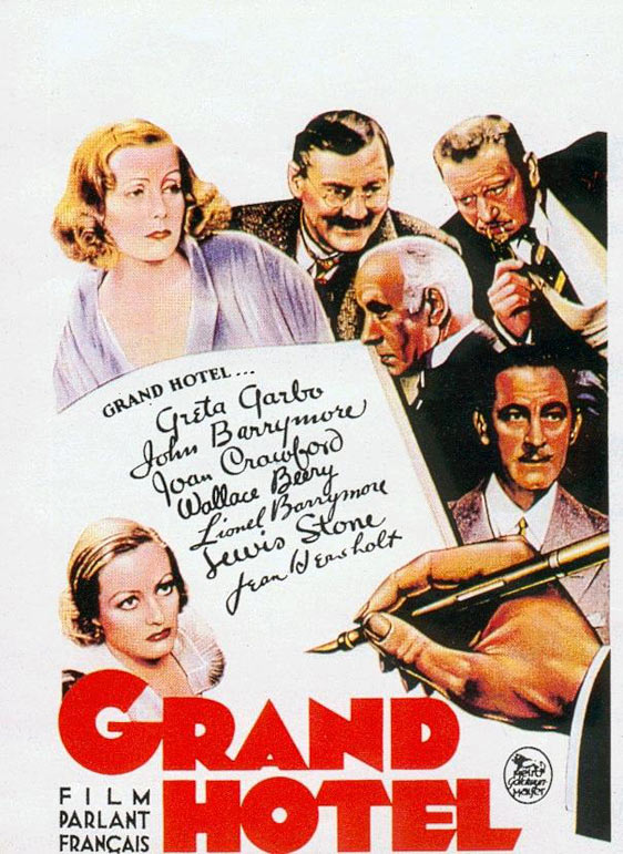 Grand Hotel Poster #1