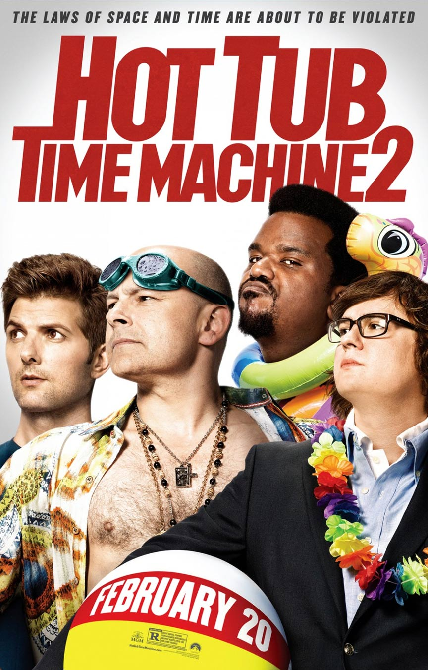 Hot Tub Time Machine 2 Poster #1