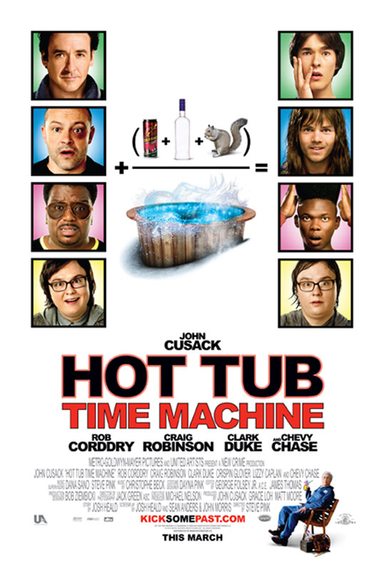Hot Tub Time Machine Poster #2