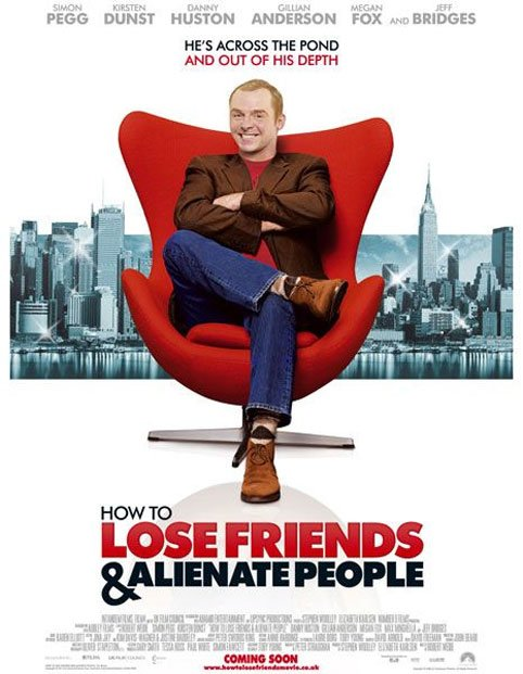 How to Lose Friends & Alienate People Poster #5