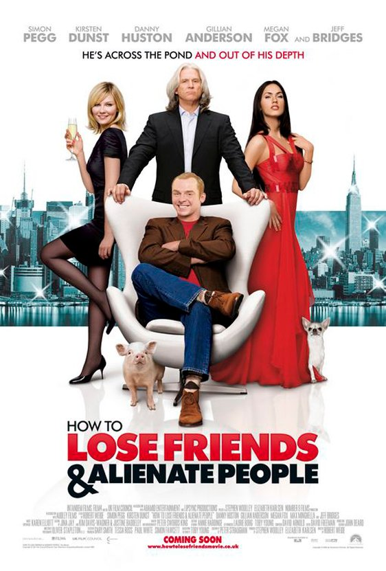 How to Lose Friends & Alienate People Poster #1
