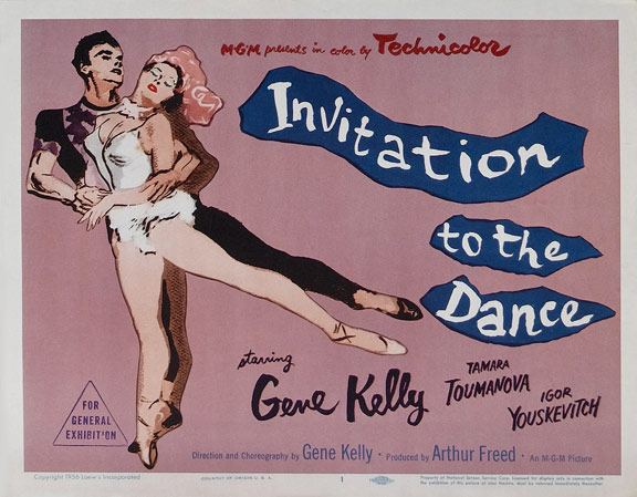 Invitation to the Dance Poster #1