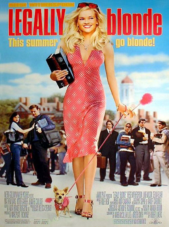 Legally Blonde Poster #1