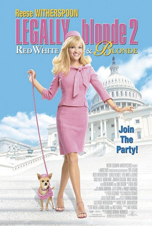 Legally Blonde 2: Red, White & Blonde Poster #1
