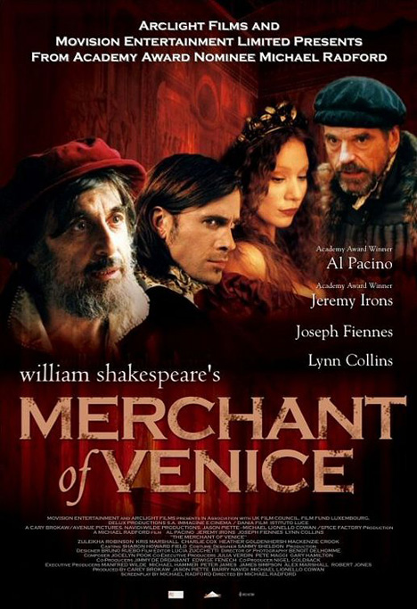 The Merchant of Venice Poster #1
