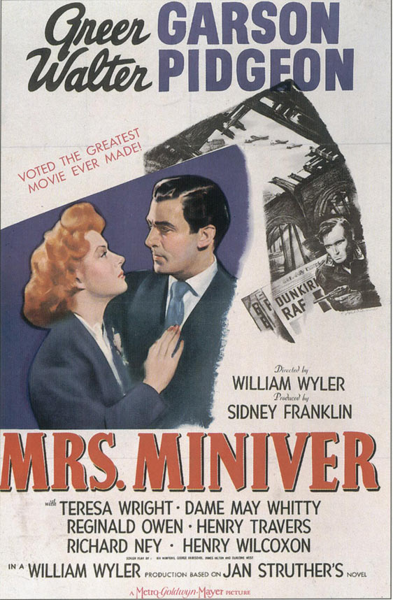 Mrs. Miniver Poster #1