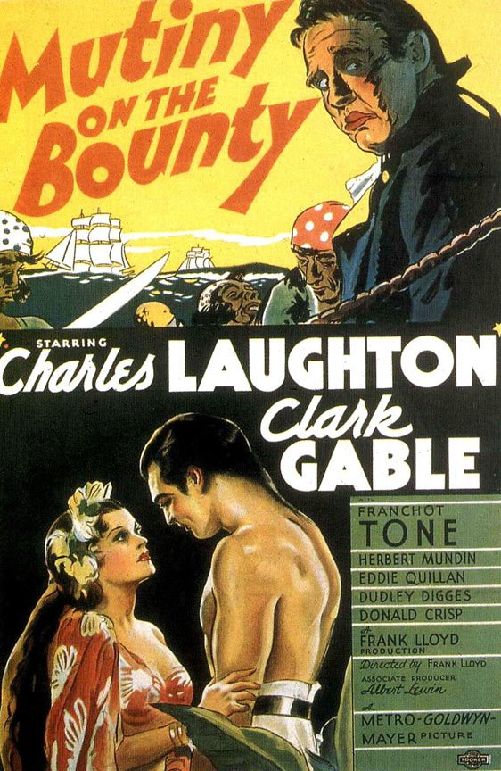 Mutiny on the Bounty Poster #1