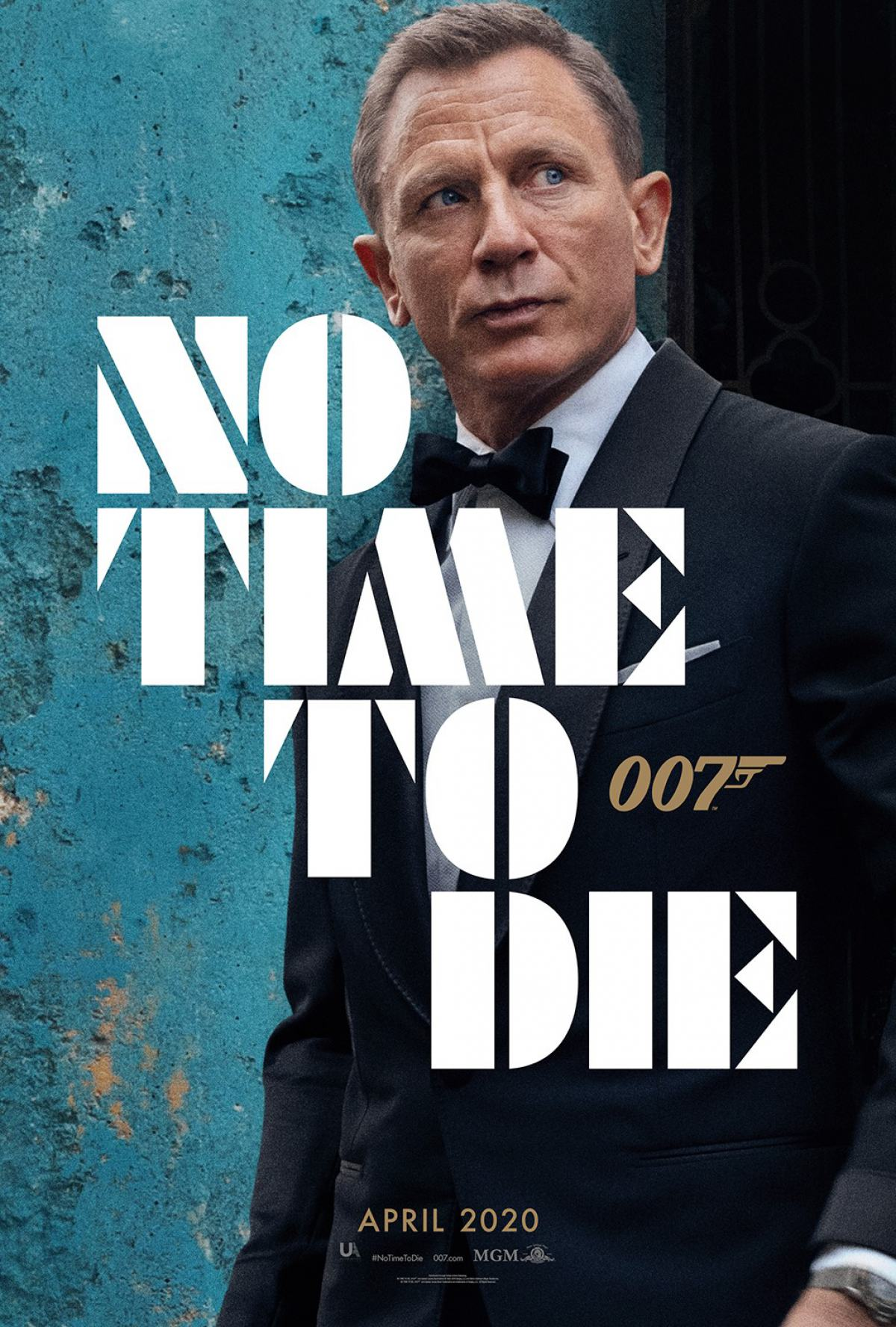 No Time to Die Poster #1