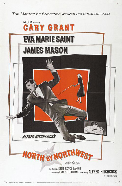 North By Northwest Poster #1