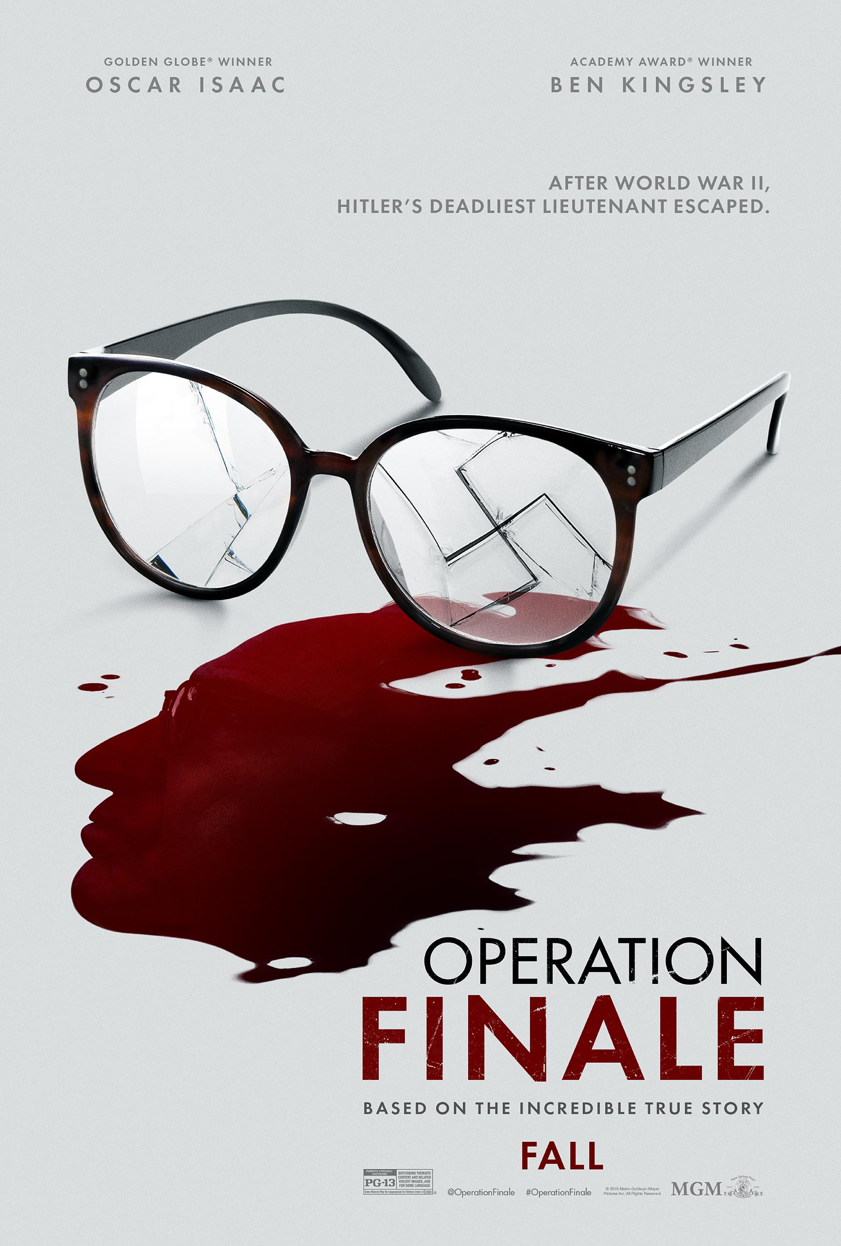 Operation Finale Poster #2