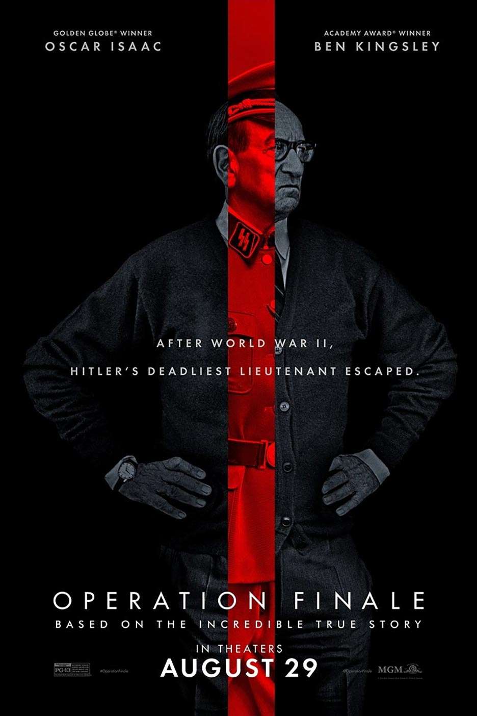 Operation Finale Poster #3