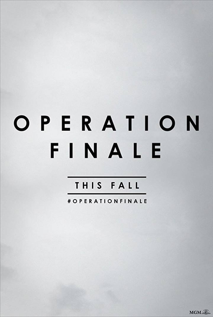 Operation Finale Poster #1