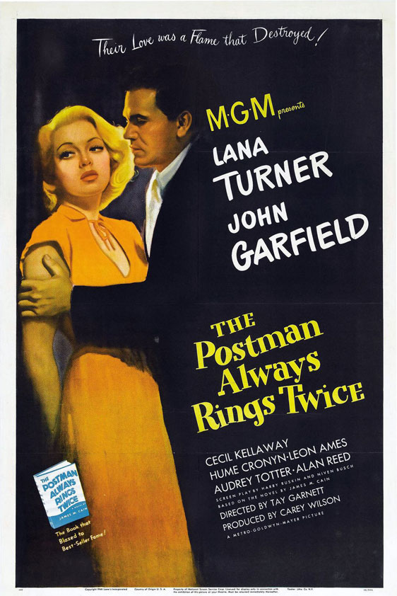 The Postman Always Rings Twice Poster #1
