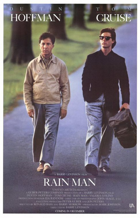 Rain Man Poster #1