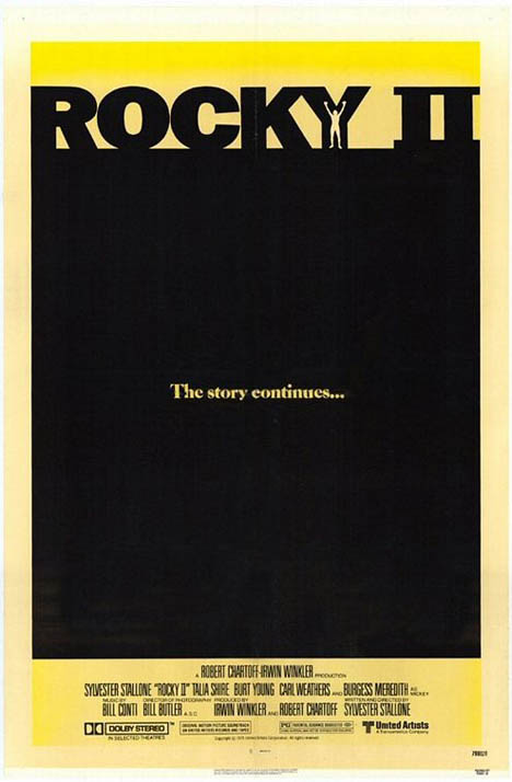 Rocky II Poster #1