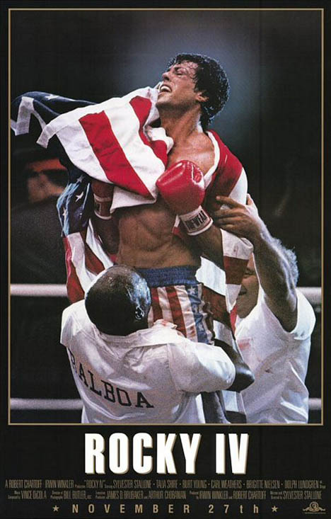 Rocky IV Poster #1