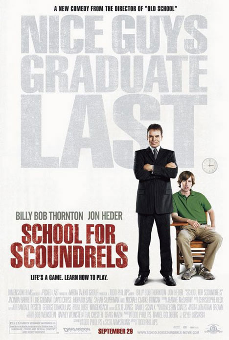 School for Scoundrels Poster #1