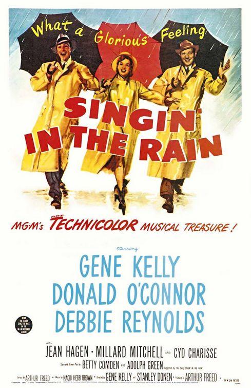 Singin' In The Rain Poster #1