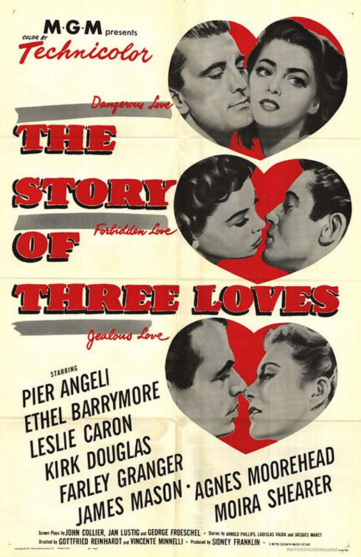 The Story of Three Loves Poster #1