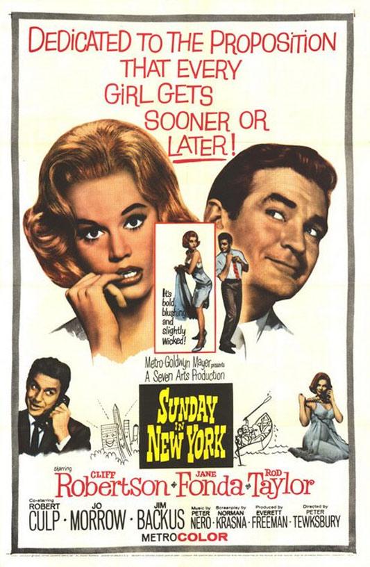 Sunday in New York Poster #1