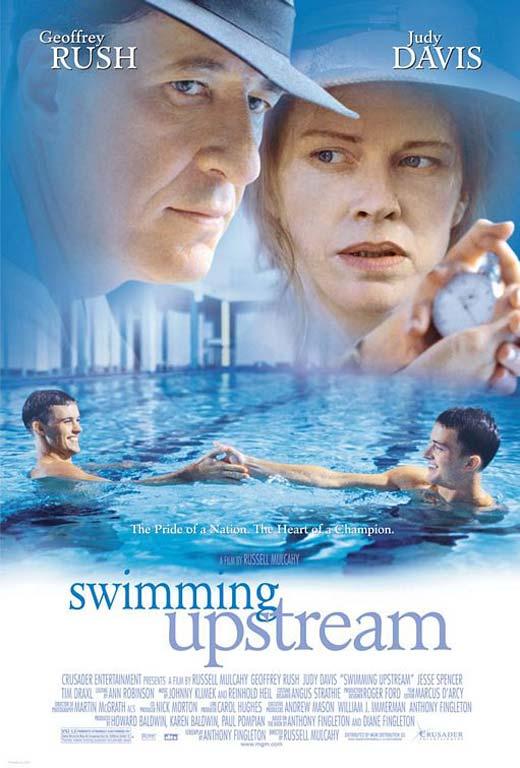 Swimming Upstream Poster #1
