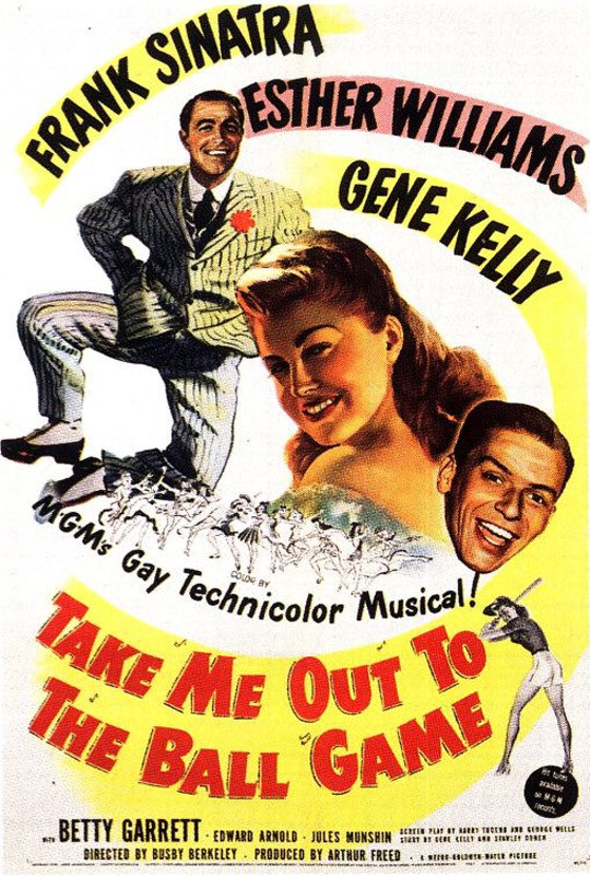 Take Me Out to the Ball Game Poster #1