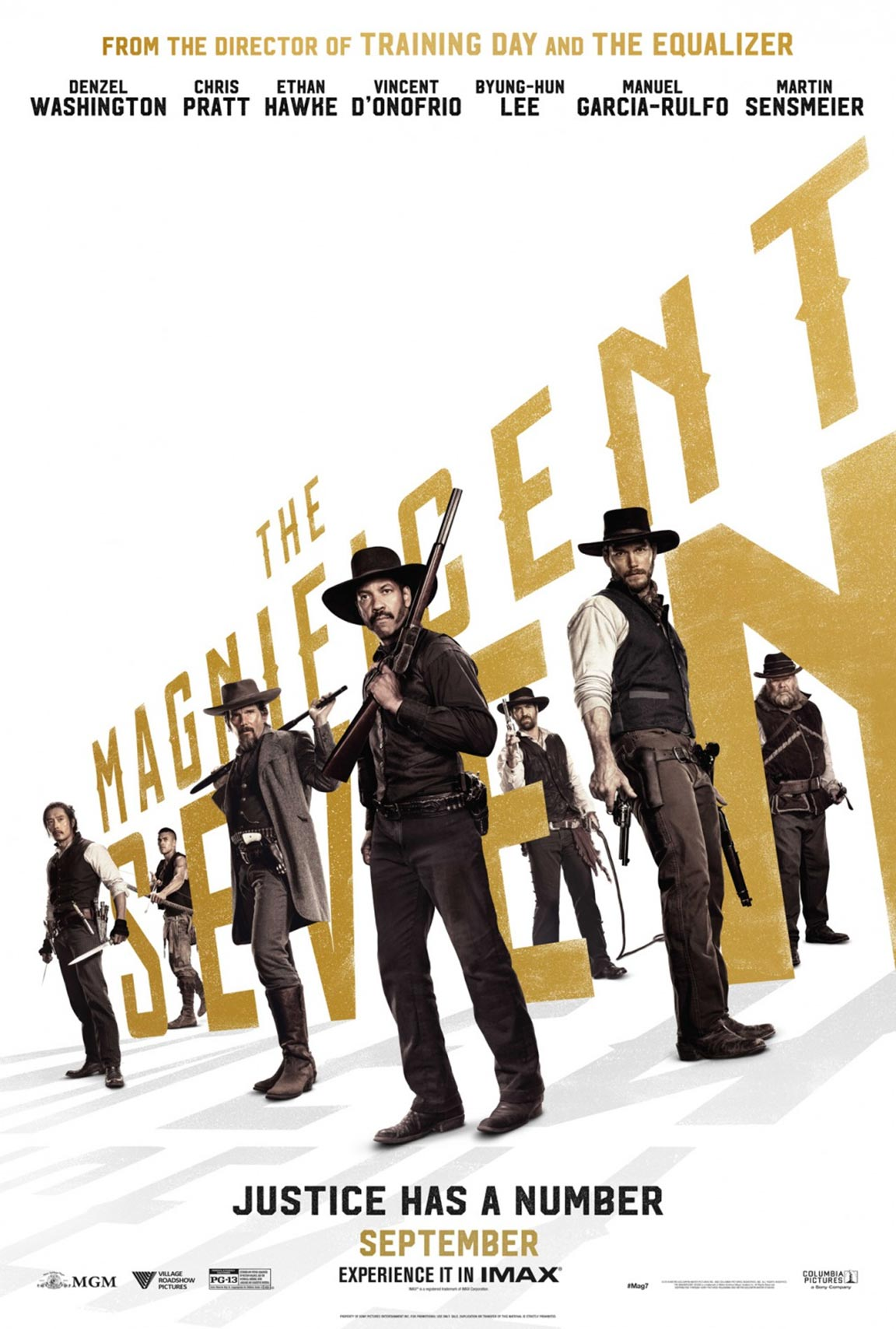 The Magnificent Seven Poster #2
