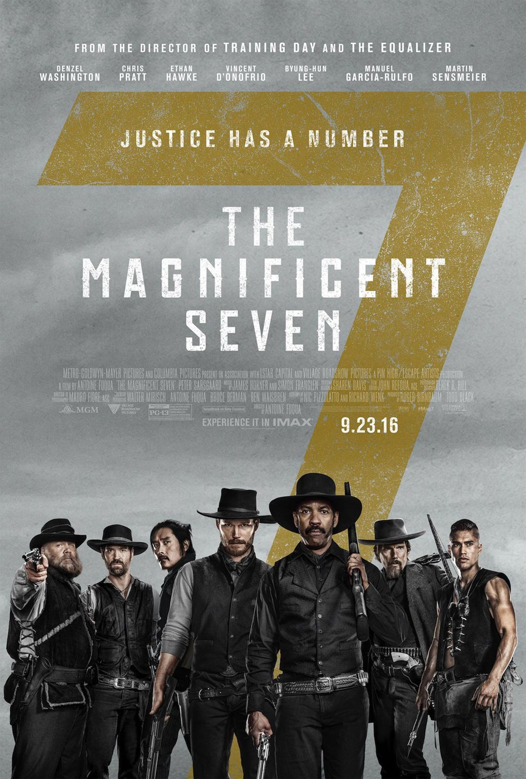 The Magnificent Seven Poster #5