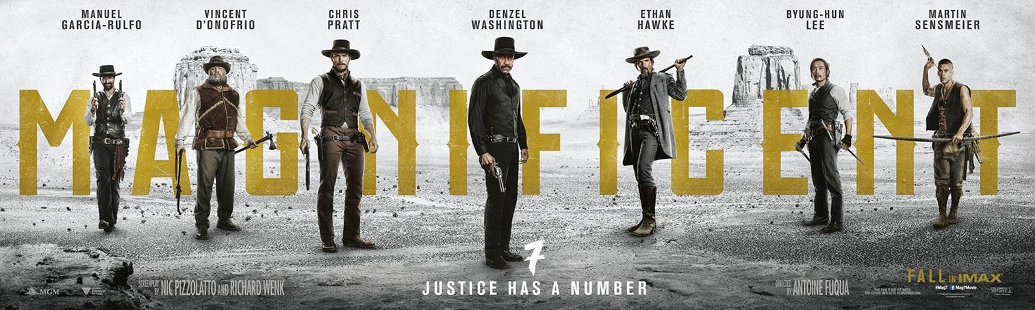 The Magnificent Seven Poster #1