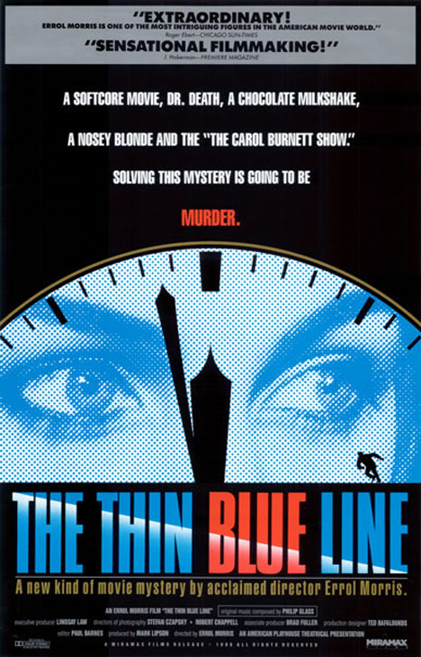 The Thin Blue Line Poster #1
