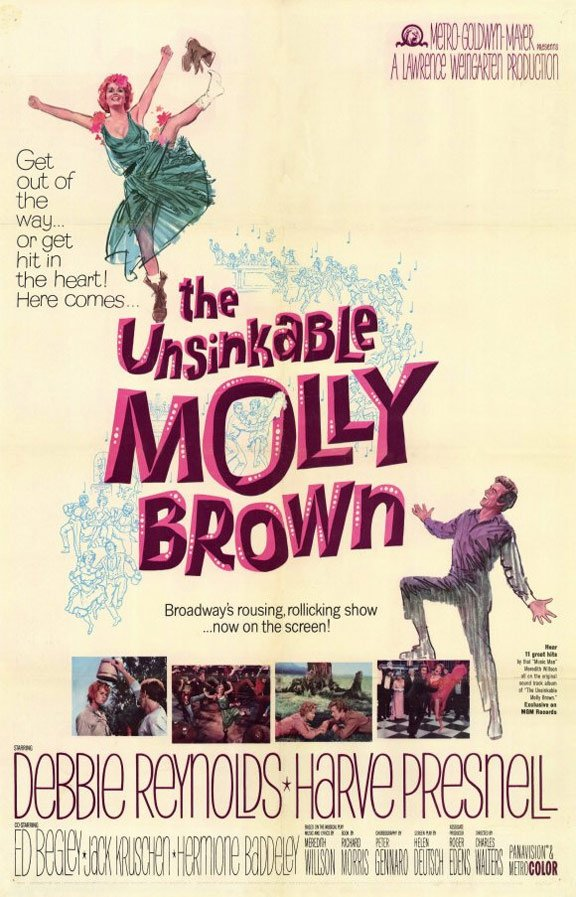 The Unsinkable Molly Brown Poster #1
