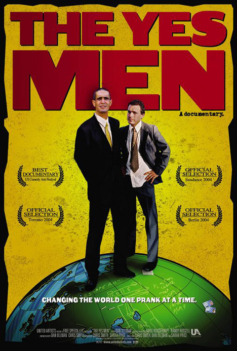 The Yes Men Poster #1