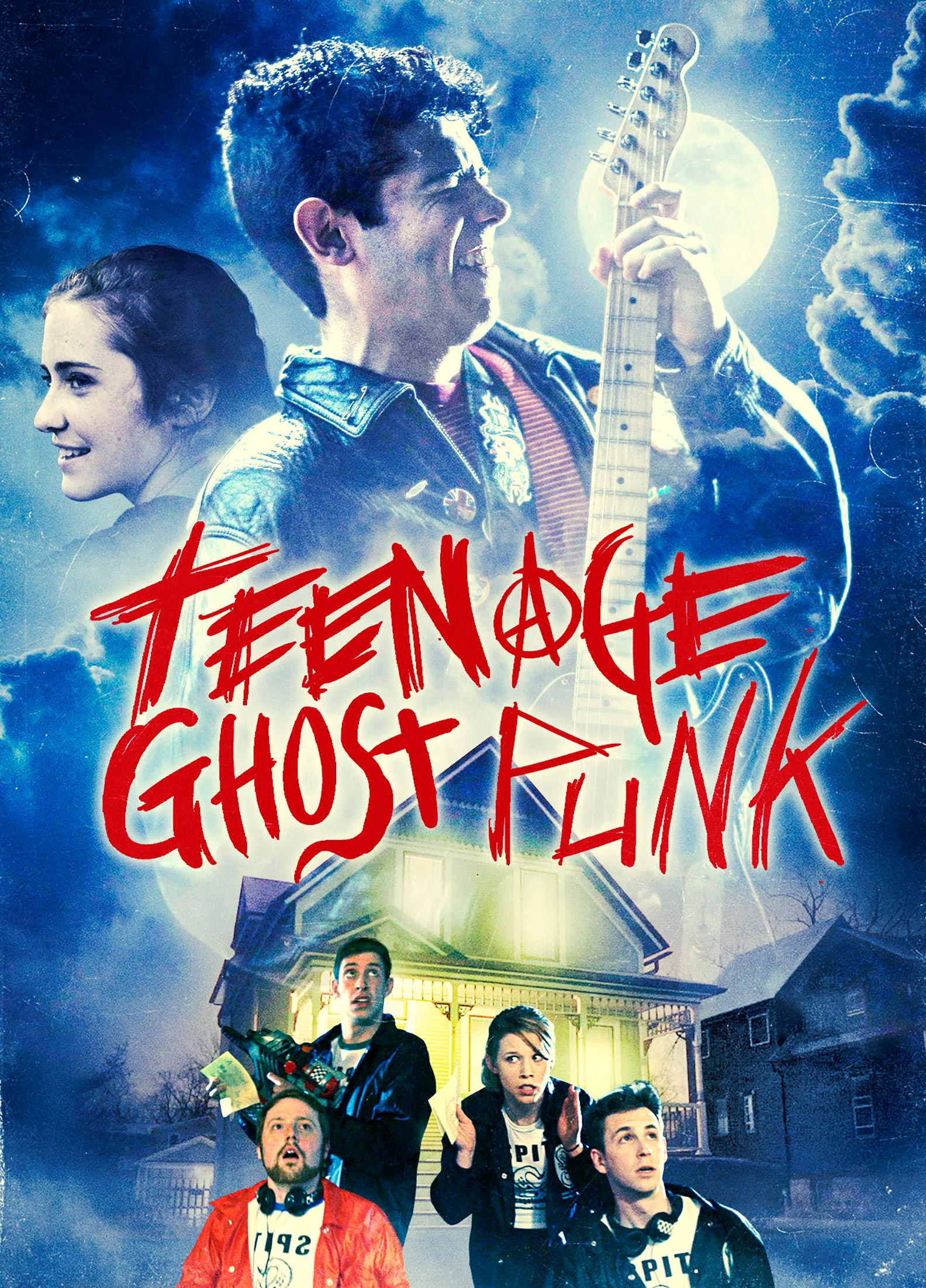 Teenage Ghost Punk Poster #1