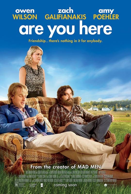 Are You Here Poster #1