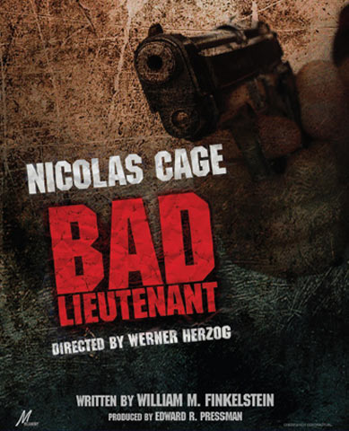 Bad Lieutenant: Port of Call New Orleans Poster #1
