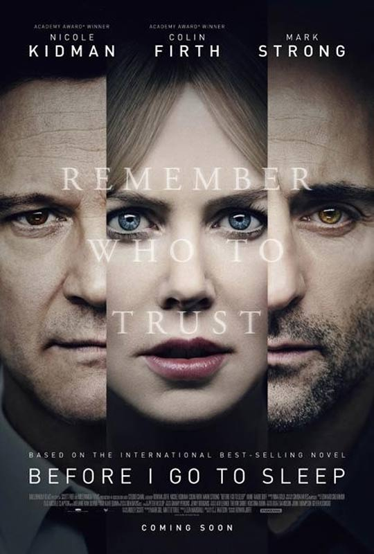 Before I Go to Sleep Poster #2