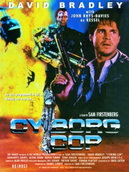 Cyborg Cop Poster #1