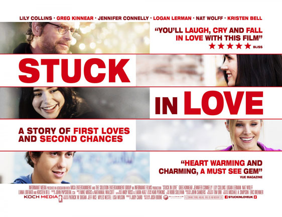Stuck in Love Poster #4