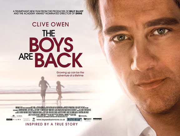 The Boys Are Back Poster #2