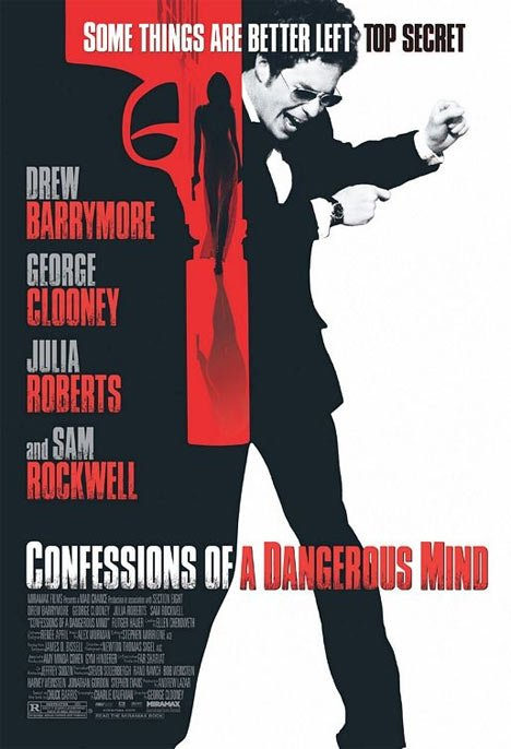 Confessions of a Dangerous Mind Poster #1
